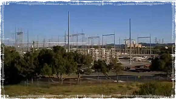 California Power Substation