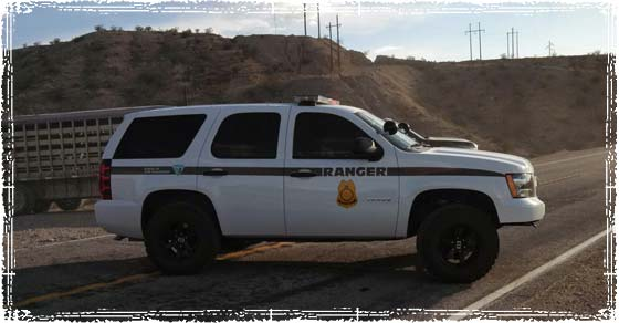 BLM Ranger Vehicle