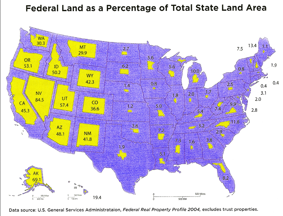 Federal Land Grab Map