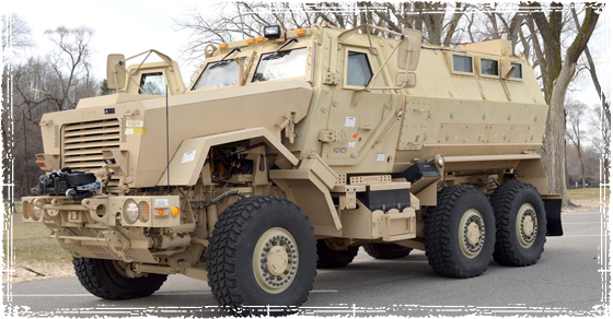 MRAP for local law enforcment teams