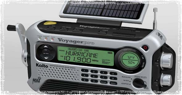 NOAA Enabled Weather Radio