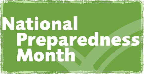 September Is National Preparedness Month Let S Help Raise