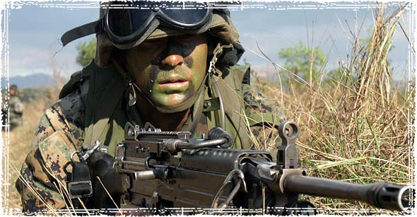 US Marine Corps (USMC) Lance Corporal