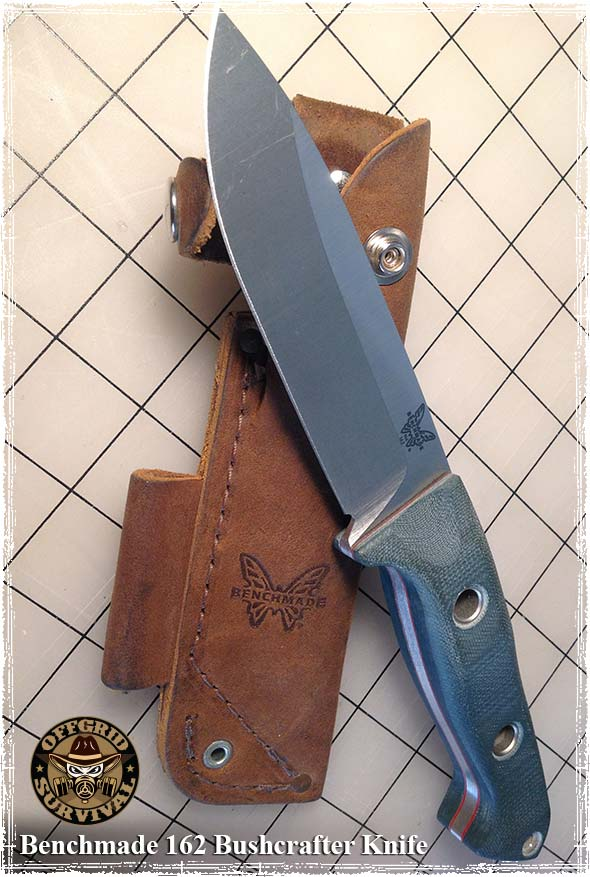 Benchmade 162 Bushcrafter Knife