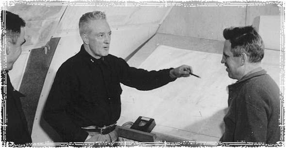 Admiral Richard Byrd Making a Plan