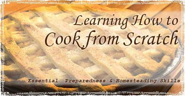 Learning How to Cook Graphic with a Pie