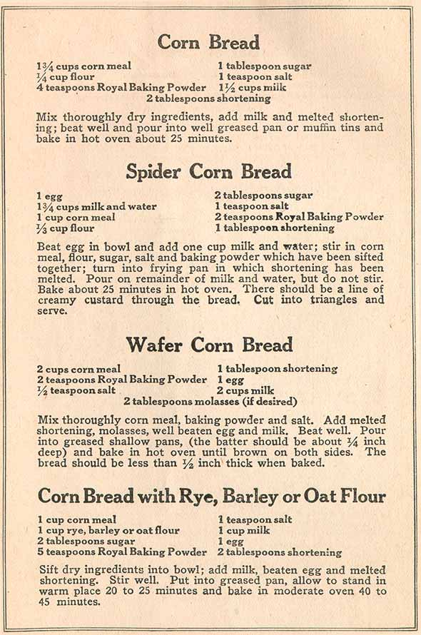 Recipe Booklet Page 1