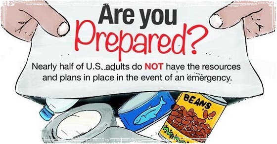 Tesla Roof Shingles >> National Preparedness Month Infographics: Raising Emergency Preparedness Awareness