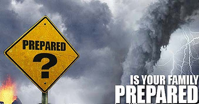 Is Your Family Prepared Graphic