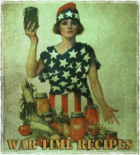 War Time Recipes