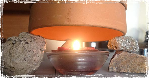 Candle Pot Heater