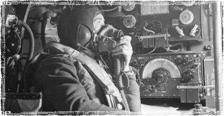Guy with Emergency Communication Radios