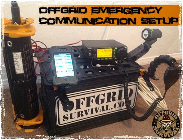 Off Grid Emergency Ham Radio