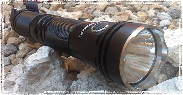 ZEROHOUR XD Tactical Flashlight