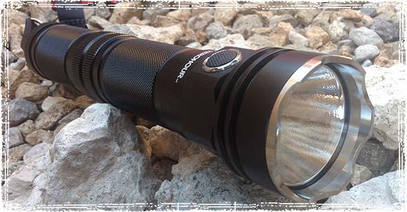 ZEROHOUR XD Tactical Flashlight