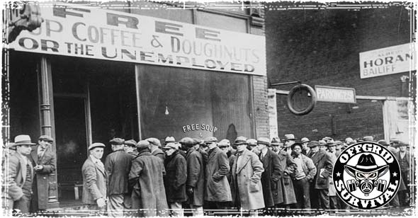 Depression Era Breadlines