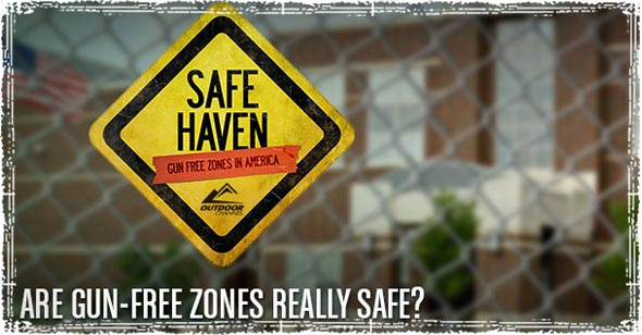Gun-free Zone Safe Haven Sign