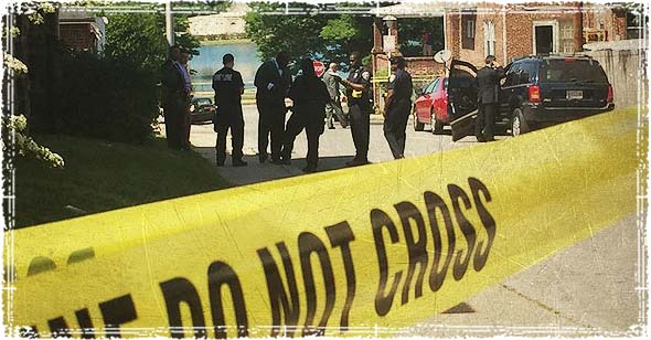 Baltimore Crime Scene