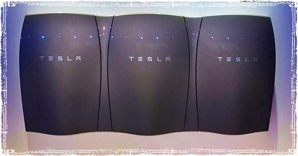 Tesla's Battery Pack The Powerwall
