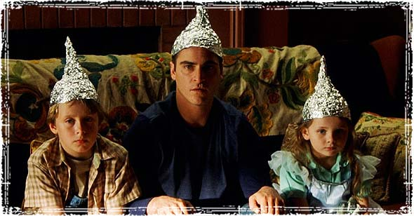 Wearing Tinfoil Hats from the Movie SIGNS