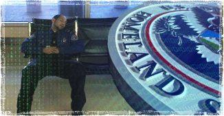 TSA agent Sleeping