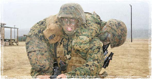 Carrying a Marine