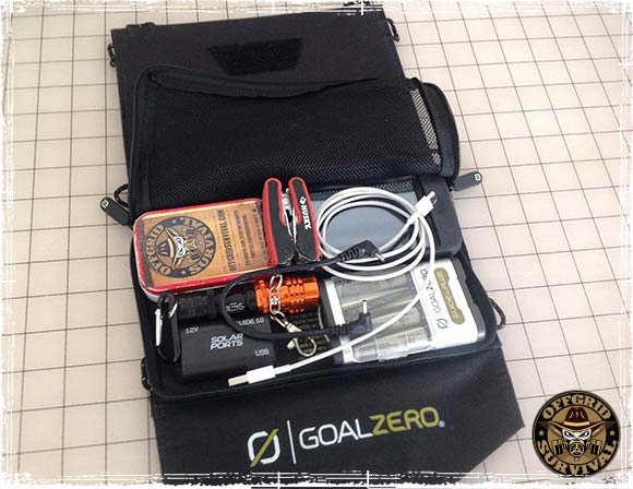 Goal Zero Charger with Survival Gear