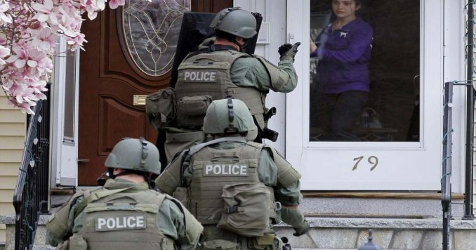 Military Style SWAT Team Raid