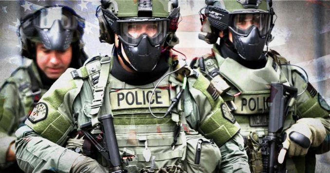 Military Style Police Force
