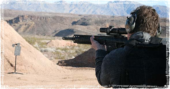 Firearms Training at the Range