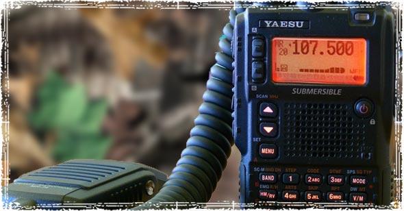 Yaesu VX-8DR Ham Radio