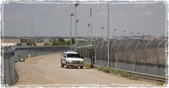 U.S. Border Patrol Agents patrolling the border