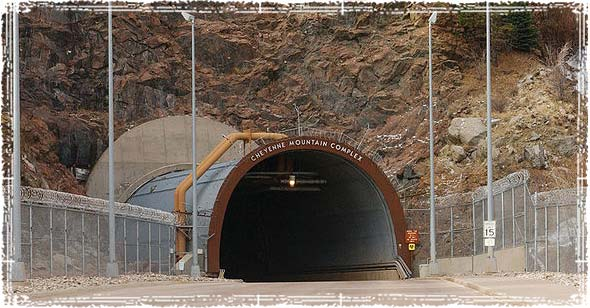 Doomsday Bunker in Cheyenne Mountain