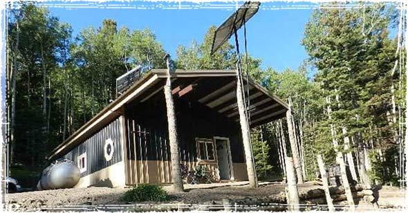 Off Grid Home in Costilla County, Colorado