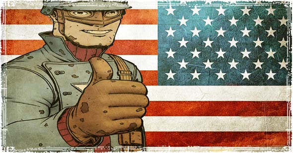 U.S. Propaganda Poster