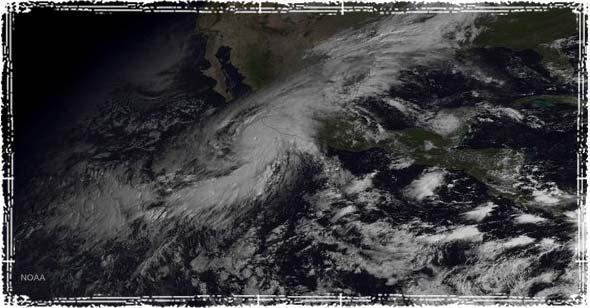 Hurricane Patricia Satellite Iamge