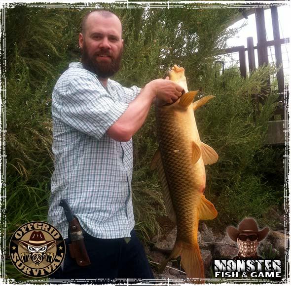 Robert Richardson catching a Large Carp