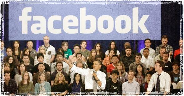 Facebook Obama townhall