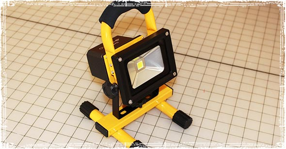 Olympia FL970 Rechargeable Work Light