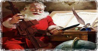Santa prepping