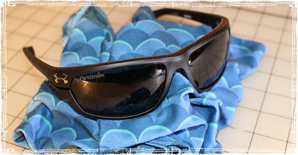 Under Armour Hook'd Storm Sunglasses