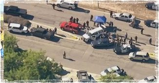Officers responding to Mass Shooting in California