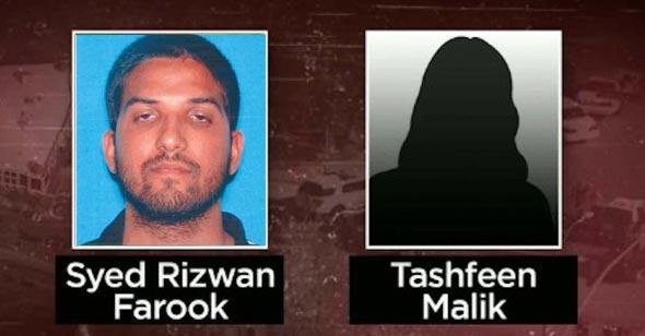 terror suspects in San Bernardino terror attack