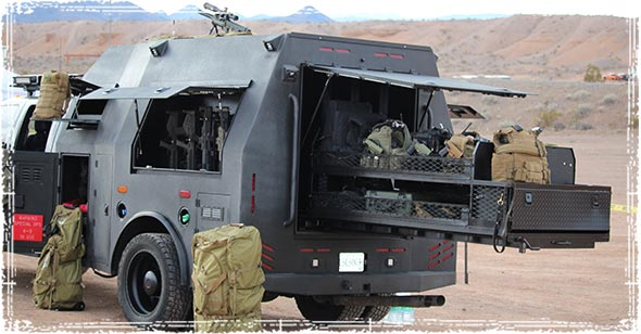 Tactical Truck at SHOT Show