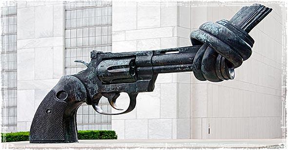Anti-Gun Statue