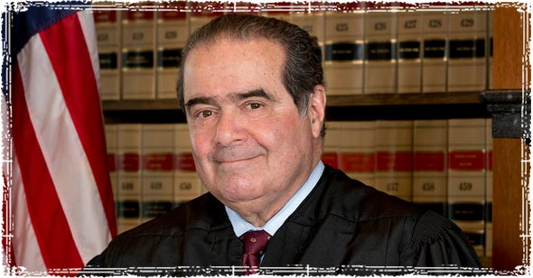 Antonin Gregory Scalia, Associate Justice of the Supreme Court of the United States