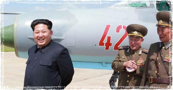 Kim Jong-Un in North Korea