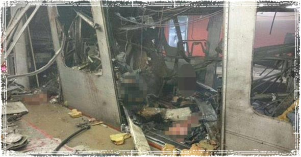 Brussels subway terror attack