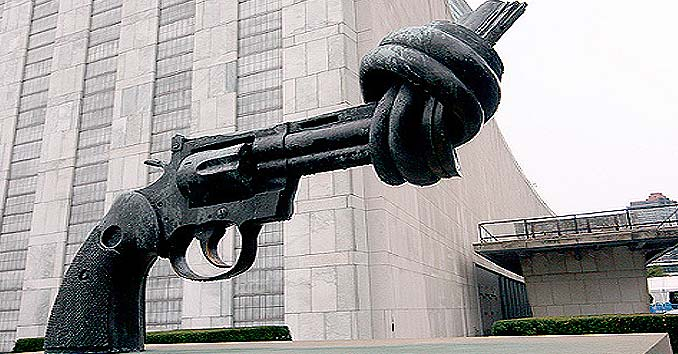 UN Gun Control Firearm Knot