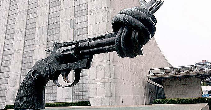UN Gun Control Firearm Knot